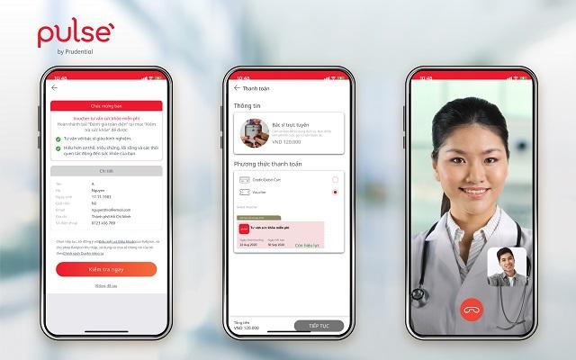 Khám bệnh từ xa, an tâm phòng dịch với bác sĩ trực tuyến trên ứng dụng Pulse by Prudential