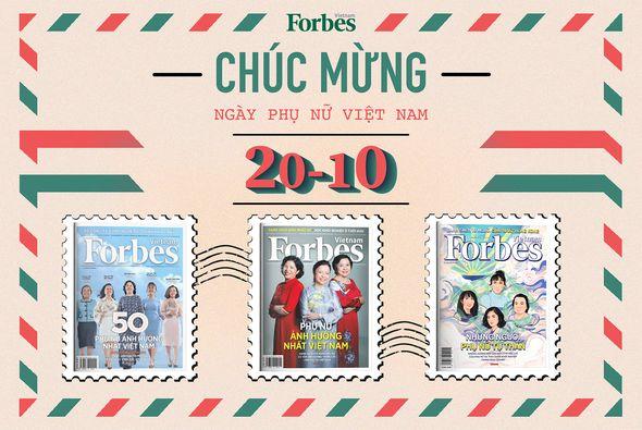 Tạp chí Forbes Việt Nam – Món quà cho người phụ nữ thân yêu của bạn