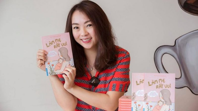 """Sách """"Làm mẹ rất vui"""" của Parent Coach Tú Anh Nguyễn – """"mom-friend"""" thân thiết của những người mẹ hiện đại"""