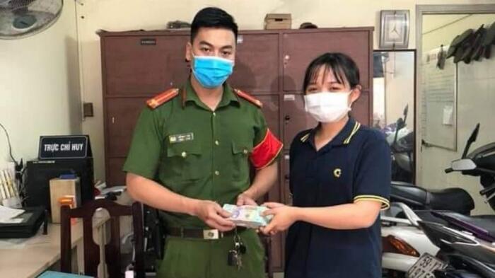 Nữ sinh viên giao nộp 200 triệu đồng nhặt được cho công an, nhờ tìm người bị đánh rơi