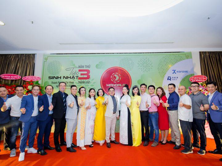 Tiệc sinh nhật tuổi lên 3 của CLB Mandala Phong Thủy: ấn tượng và tràn đầy năng lượng tích cực