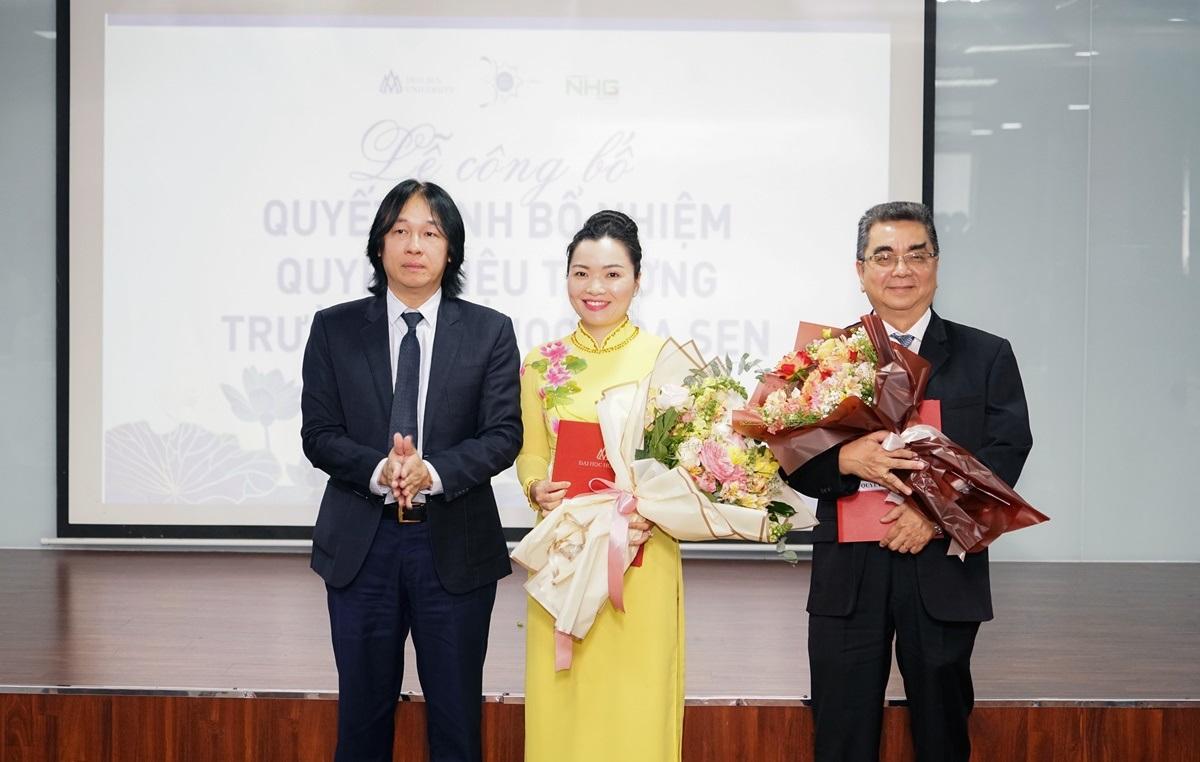 PGS.TS Võ Thị Ngọc Thúy làm Quyền hiệu trưởng Trường ĐH Hoa Sen