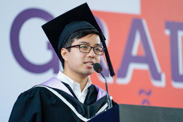 Vũ Hoàng Trung: Đóng góp tích cực cho xã hội là kim chỉ nam giúp các bạn trẻ tìm ra hướng thành công cho riêng mình