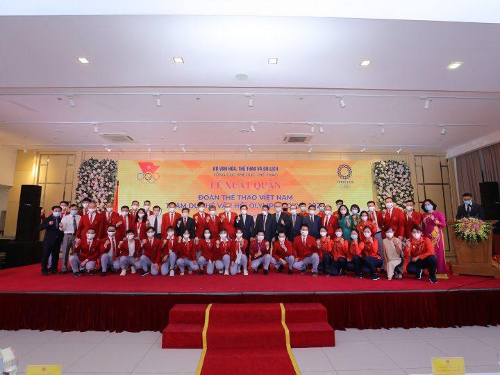 Herbalife Nutrition và Ủy ban Olympic Việt Nam tổ chức Lễ xuất quân cho Đoàn Thể Thao Việt Nam