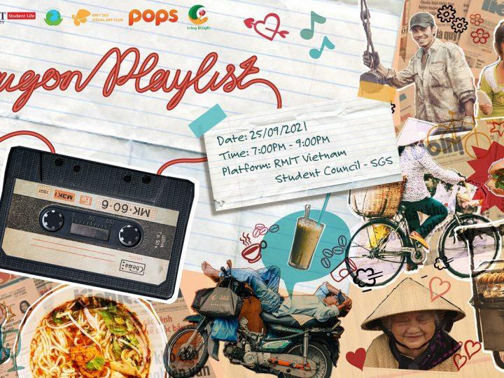 Đón xem sự kiện âm nhạc trực tuyến Saigon Playlist tối 25/9/2021